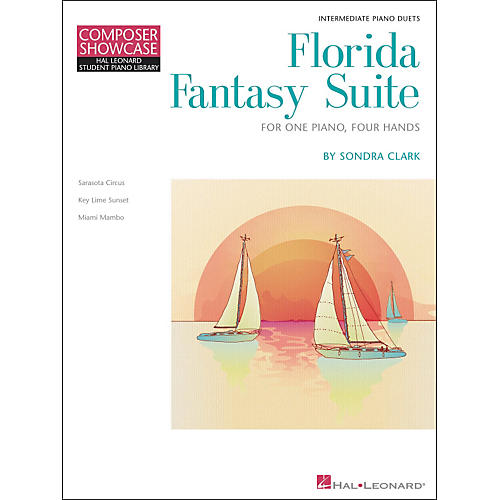 Hal Leonard Florida Fantasy Suite - One Piano/Four Hands Level 5 Hal Leonard Student Piano Library by Clark-thumbnail