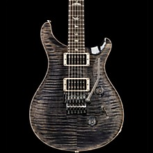 PRS Floyd Custom 24 Carved Flame Maple Top with Nickel Hardware Solid Body Electric Guitar Gray Black