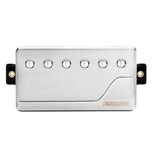 Fishman Fluence Classic Humbucker Neck Guitar Pickup Brushed Stainless Steel