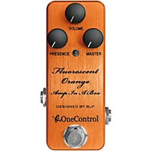 One Control Fluorescent Orange Distortion Effects Pedal