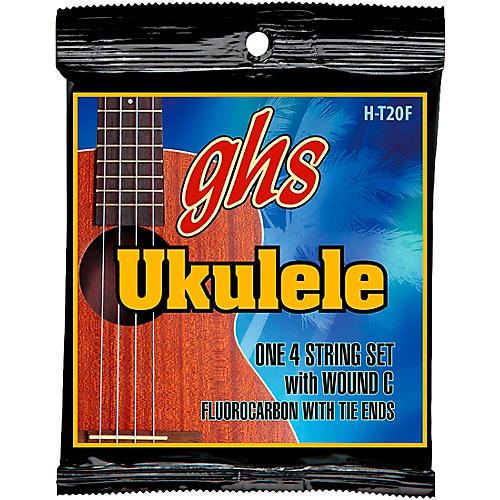 GHS Fluorocarbon High Tension Fingerstyle Ukulele Strings-thumbnail
