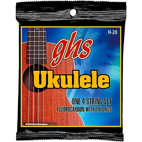 GHS Fluorocarbon Soprano/Concert Ukulele Strings-thumbnail