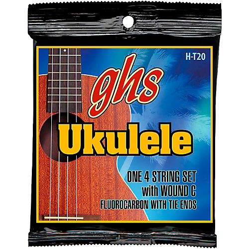 GHS Fluorocarbon Tenor Wound C Ukulele Strings-thumbnail