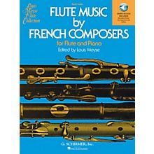 G. Schirmer Flute Music by French Composers for Flute and Piano Woodwind Solo Softcover Audio Online Edited by Moyse