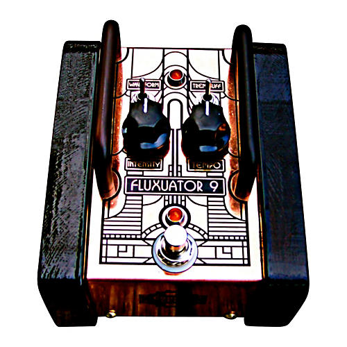 Copper Gear Fluxuator 9 - True Analog Tremolo Pedal with Rate LED-thumbnail