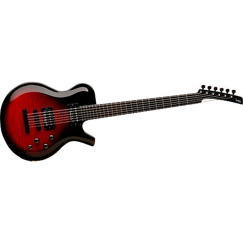 Parker Guitars Fly Mojo Single Cut Electric Guitar Transparent Cherry-thumbnail