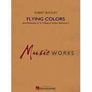 Hal Leonard Flying Colors (3rd Mvt Of  A Tribute To Arthur Delamont) Concert Band Level 4