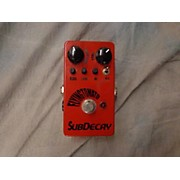 Subdecay Flying Tomato Effect Pedal