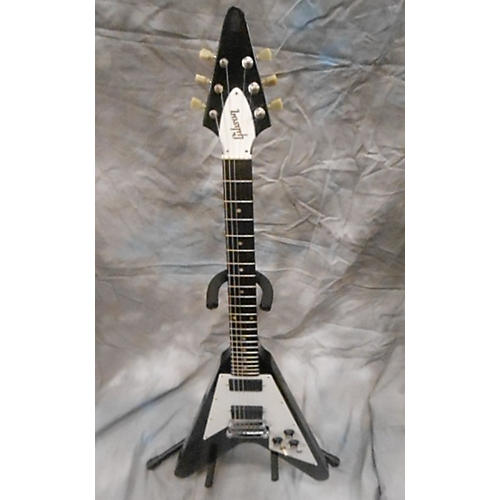 Gibson Flying V Black Solid Body Electric Guitar