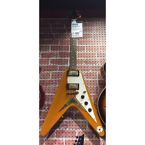 Epiphone Flying V Korina Solid Body Electric Guitar-thumbnail