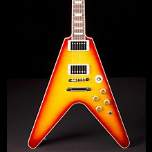 Flying V Standard Electric Guitar Washed Cherry