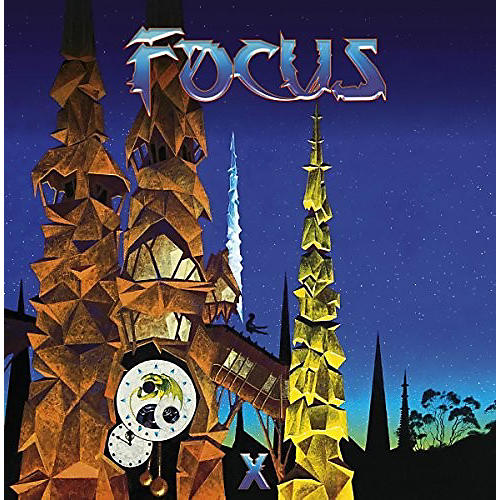 Alliance Focus - X. (Blue Vinyl)