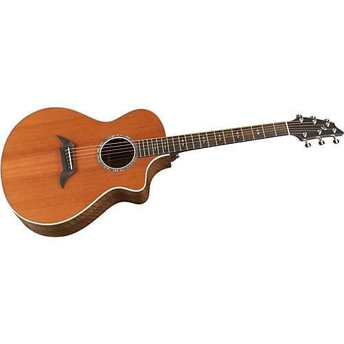 Breedlove Focus SE Special Edition Custom Walnut Acoustic-Electric Guitar Natural