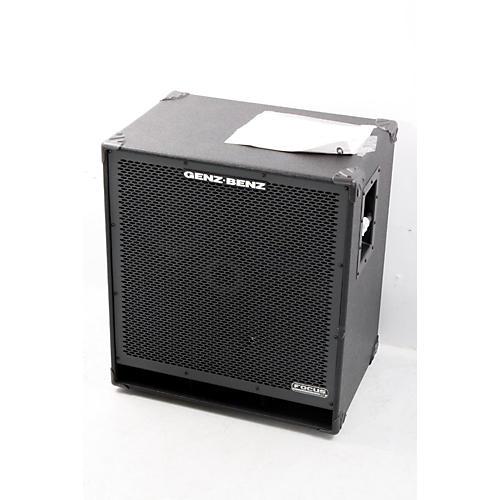 Genz Benz Focus Series FCS-410T 4x10 Bass Speaker Cabinet Regular 888365357072