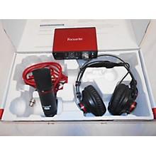 Focusrite Focusrite Scarlett Solo Studio 2nd Gen Recording Microphone Pack