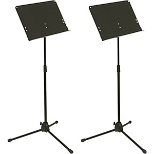 Musician's Gear Folding Music Stand 2 Pack by Musicians Gear