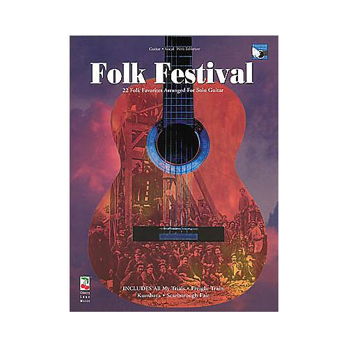 Cherry Lane Folk Festival Guitar Tab Songbook