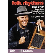Homespun Folk Rhythms: Learn To Play Spoons, Bones, Washboard, Hambone and the Paper Bag (DVD)
