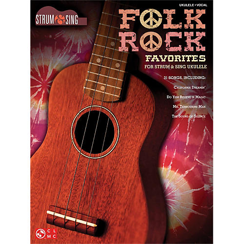 Cherry Lane Folk Rock Favorites for Ukulele - Strum & Sing Series-thumbnail
