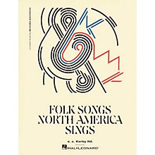 E.C. Kerby Folk Songs North America Sings Kodaly Collection Book