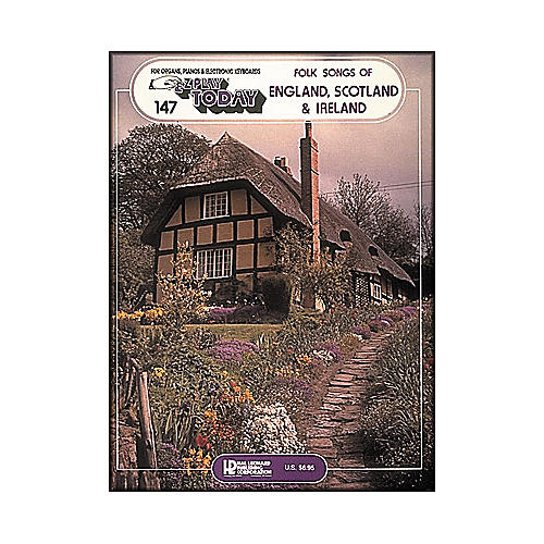 Hal Leonard Folk Songs Of England, Scotland & Ireland E-Z Play 147-thumbnail