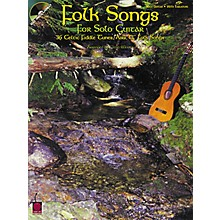 Cherry Lane Folk Songs for Solo Guitar Songbook with CD
