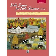 Alfred Folk Songs for Solo Singers Vol. 2