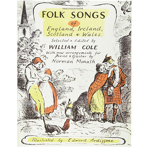 Alfred Folk Songs of England Ireland Scotland & Wales Piano, Vocal, Guitar Songbook-thumbnail