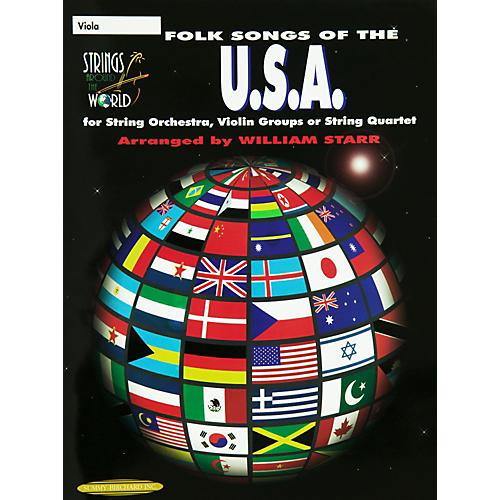 Alfred Folk Songs of the USA Viola (Book)-thumbnail