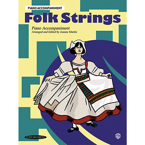 Alfred Folk Strings Piano Accompaniment (Book)