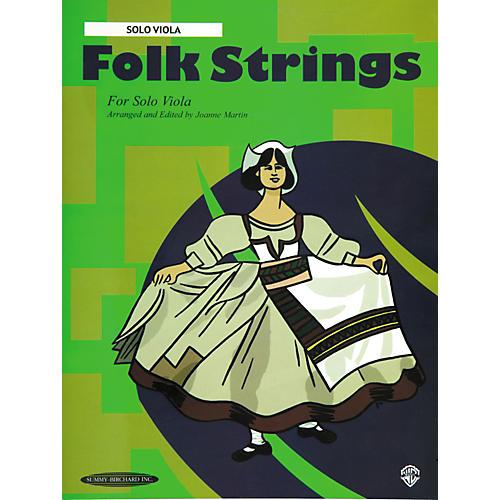 Summy-Birchard Folk Strings for Solo Instruments Solo Viola