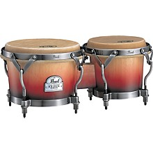 Pearl Folkloric Bongos Level 1  Crimson Sunrise