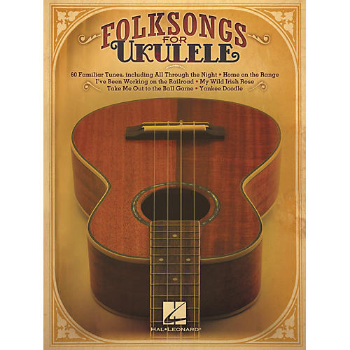 Hal Leonard Folksongs For Ukulele-thumbnail