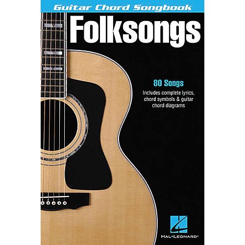 Hal Leonard Folksongs Guitar Chord Songbook