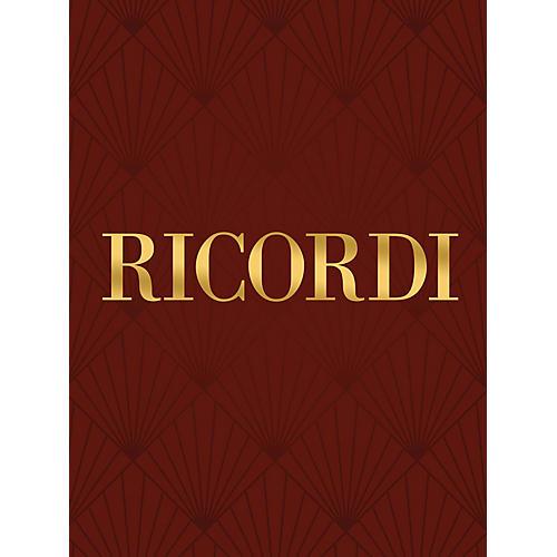 Ricordi Fonti Del Pianto RV656 Study Score Series Composed by Antonio Vivaldi Edited by Francesco Degrada