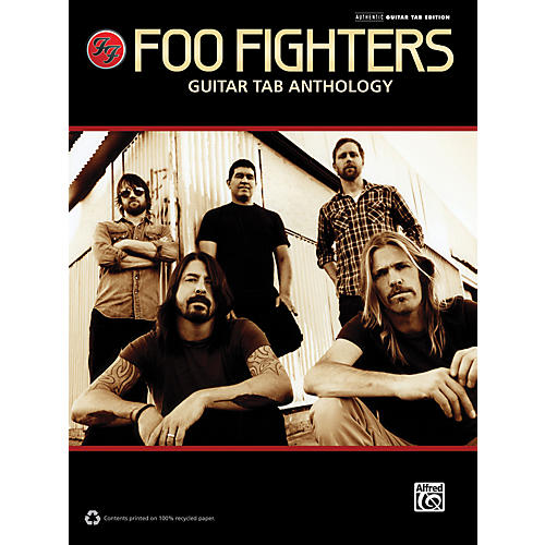 Alfred Foo Fighters - Guitar TAB Anthology Book-thumbnail