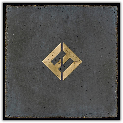 Sony Foo Fighters Concrete and Gold Vinyl LP