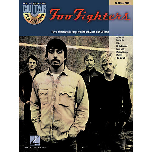 Hal Leonard Foo Fighters: Guitar Play-Along Series, Volume 56 (Book/CD)-thumbnail