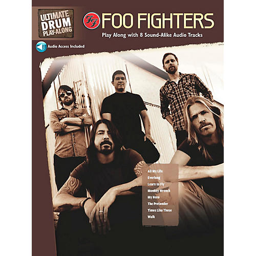 Hal Leonard Foo Fighters Ultimate Play-Along Drum Book & 2 CDs