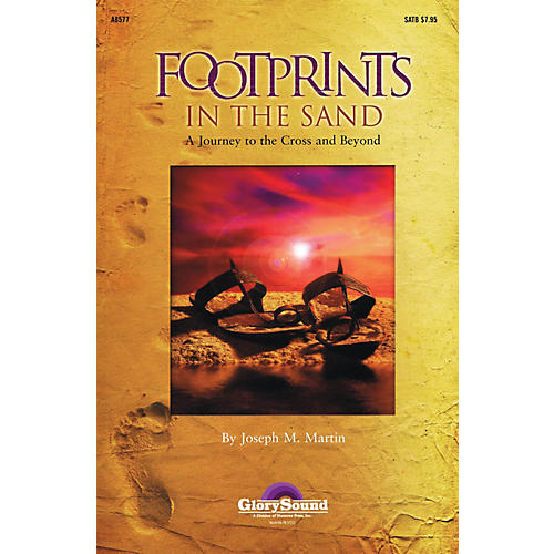 Shawnee Press Footprints in the Sand (RehearsalTrax Pak) REHEARSAL TX Composed by Joseph Martin