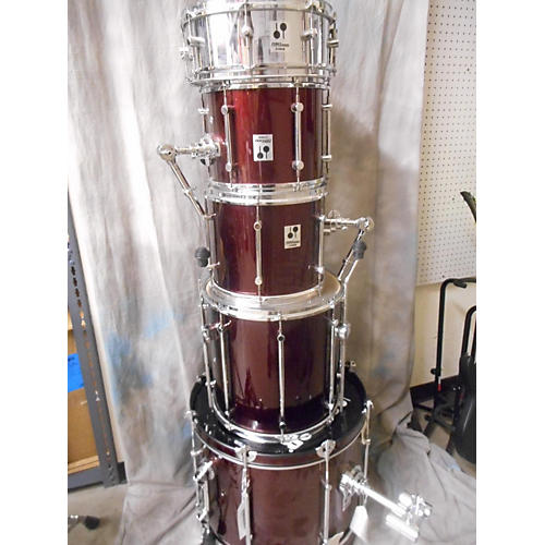 Sonor Force 2001 Drum Kit Candy Apple Red