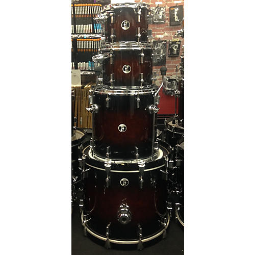 Sonor Force 3007 Drum Kit Smooth Brown Burst