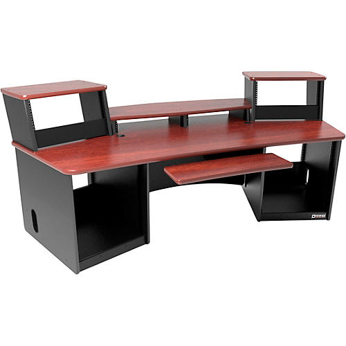 Omnirax Force 36 Workstation Mahogany-thumbnail