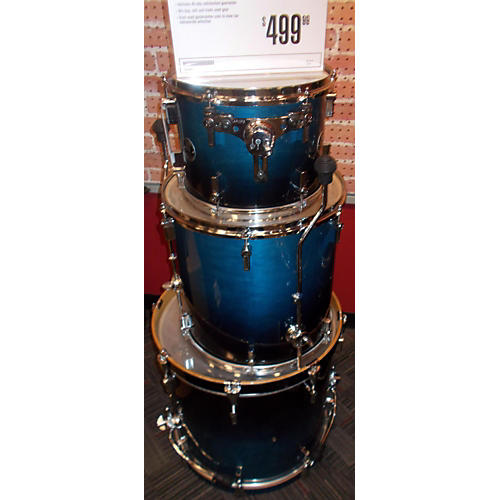 Sonor Force Drum Kit Blue to Black Fade