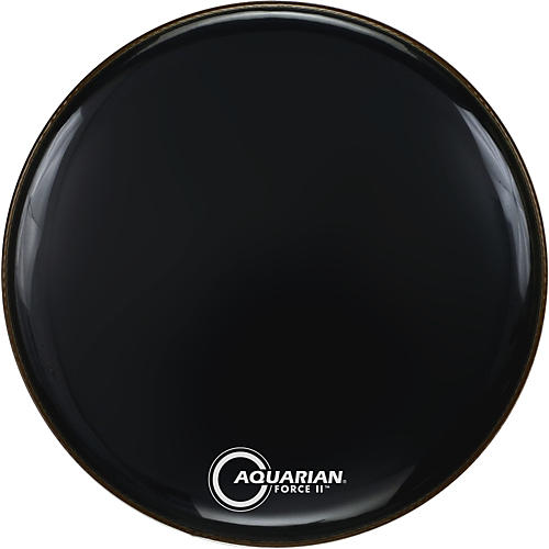 Aquarian Force II Resonant Bass Drum Head-thumbnail