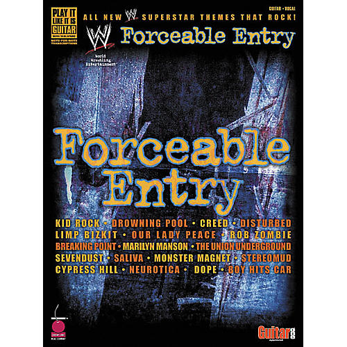 Cherry Lane Forceable Entry Guitar Tab Songbook-thumbnail
