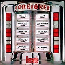 Foreigner - Records - Greatest Hits LP