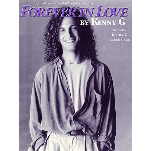 Hal Leonard Forever in Love (B-Flat or E-Flat Saxophone Solo) Instrumental Solo Series Performed by G Kenny