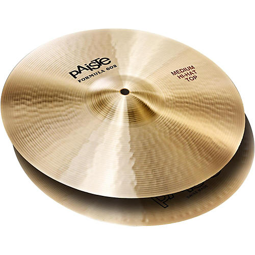 Paiste Formula 602 Medium Hi-Hat (Pair) 14 in.