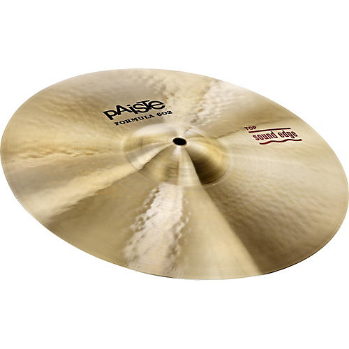 Paiste Formula 602 Series Sound Edge Hi-Hat Top 14 in.